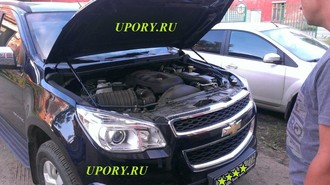 Амортизаторы (упоры) капота для Chevrolet TRAILBLAZER ( 2013- )